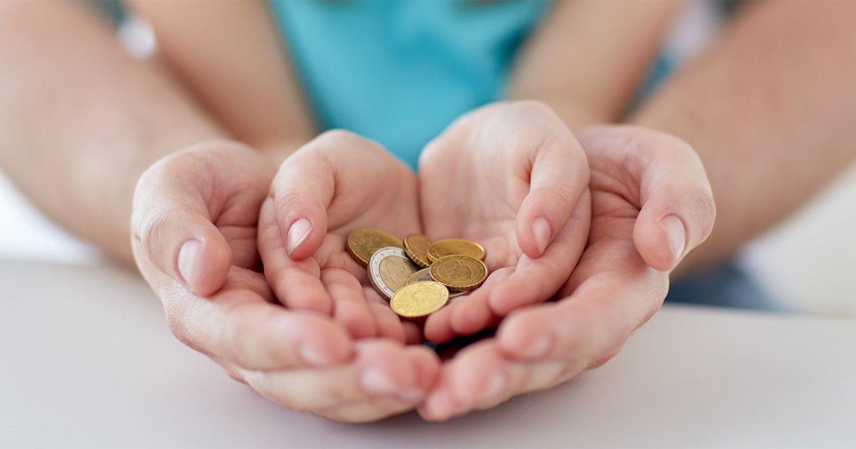 Намеренная выплата маленьких алиментов